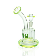"Load image into Gallery viewer, AFM - 7"" Bent Neck Mini Can Bubbler  - Slyme"