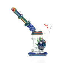 Load image into Gallery viewer, Merc's Minions Glass - Rainbow Rig
