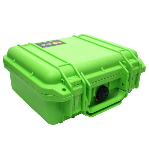Pelican 1200 Case - Lime Green