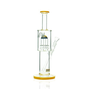 "AFM - 12"" Double Showerhead Reversal Tube - Yellow"