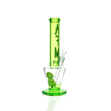 "Load image into Gallery viewer, AFM -  13"" Upside Down Beaker - Green"