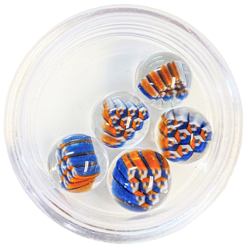 Erik Anders - Honeycomb Milli Terp Pearl - Blue & Orange
