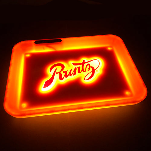 Glow Tray x Runtz Rolling Tray - Orange