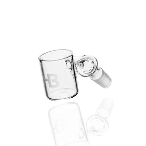 Joel Halen - 30mm Flat Top Flat Bottom Quartz Bucket - 14mm Male 45°