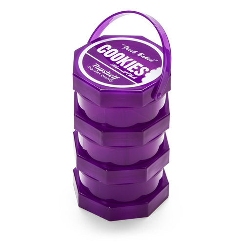 Cookies SF Medium Stack-able Jar - Purple