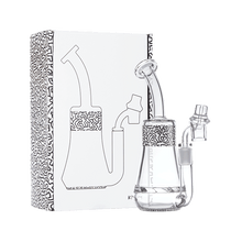 Load image into Gallery viewer, Keith Haring Glass - Concentrate Rig - Black And White