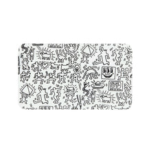 Load image into Gallery viewer, Keith Haring Glass - Rolling Tray - Black And White