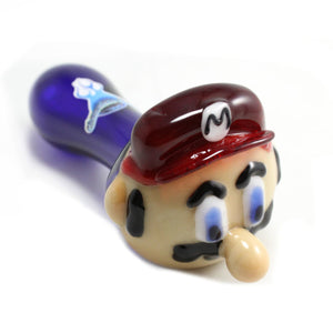 Chameleon Glass - Mario Mario Brothers Pipe