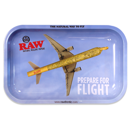 RAW Small Rolling Tray - Flying High