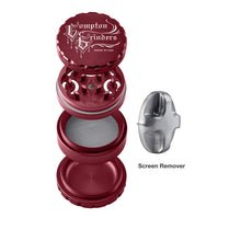 Load image into Gallery viewer, Compton Grinders - 4 Piece Small Grinder - Red