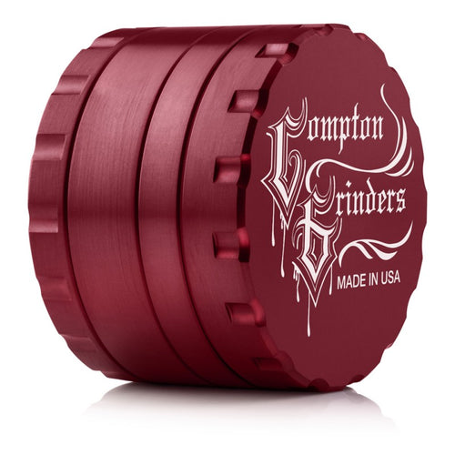 Compton Grinders - 4 Piece Small Grinder - Red