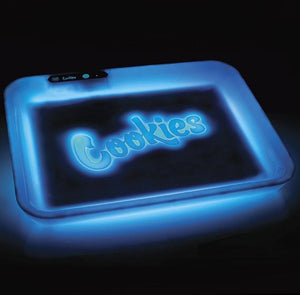 Glow Tray x Cookies SF Rolling Tray - Blue
