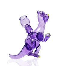 Load image into Gallery viewer, Elbo glass x Coyle glass - purple Bearosaurus Plex rig