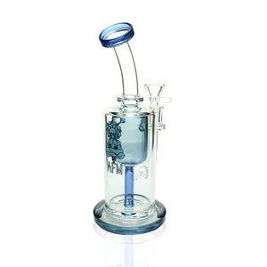 "AFM Glass 9"" Incycler  - Blue"