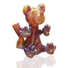 Load image into Gallery viewer, Anodyne Glass - Micro Bear Rig - Amber Purple