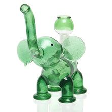 Load image into Gallery viewer, Flame Princess - Elephant Rig - Green Stardust