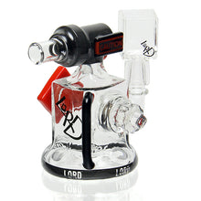 Load image into Gallery viewer, Lord glass - Large Hazard Vapor Bubbler - #1