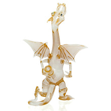 Load image into Gallery viewer, Hendy Glass - Charizard Bubbler - Peach