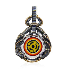 Load image into Gallery viewer, Erik Anders x Dylan Wallace - Wire Wrapped 45s Pendant