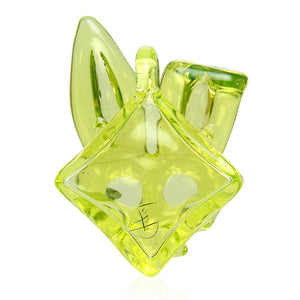 Lord glass - Bunny rabbit Pendant - Illuminati uv reactive pendant