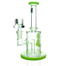 "Load image into Gallery viewer, AFM - 7"" Straight Neck Banger Hanger Rig - Slyme Green"