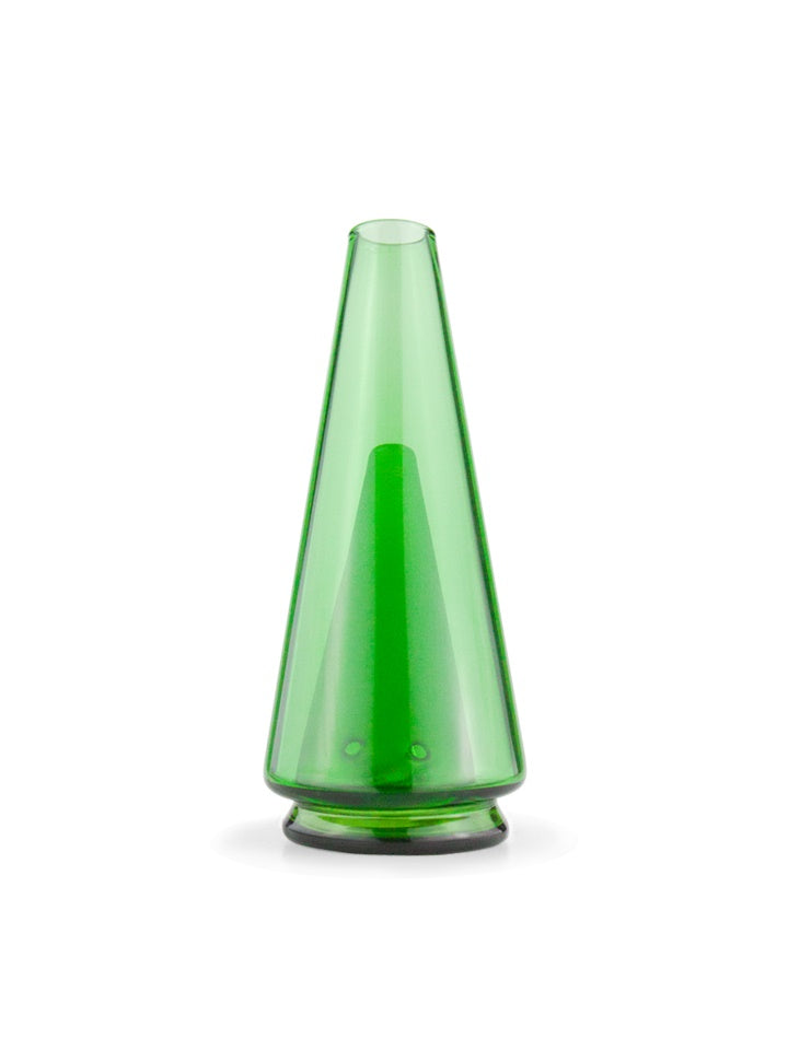 Puffco Peak Color Glass Attachment - Leaf Green