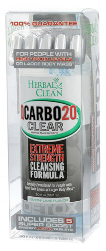 Herbal Clean - Qcarbo20 - Lemon Lime