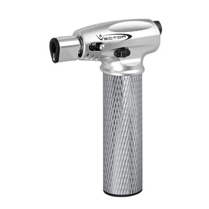 Vector Mini Nitro Torch - Silver Chrome