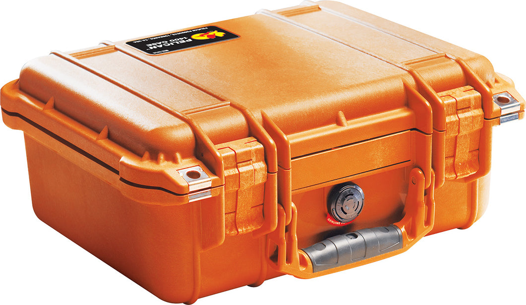 Pelican 1400 - Orange Protective Case