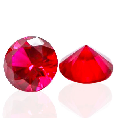 Ruby Pearl Co. - 10mm Diamond Cut Ruby