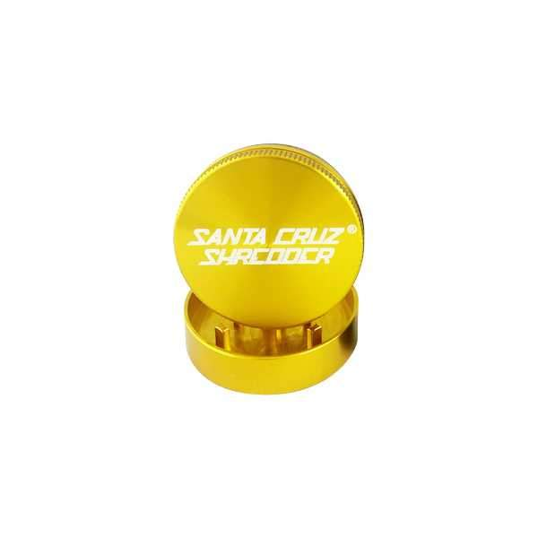 Santa Cruz Shredder - 2 Piece Small Grinder - Gold