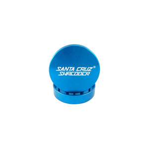 Santa Cruz Shredder - 2 Piece Small Grinder - Blue