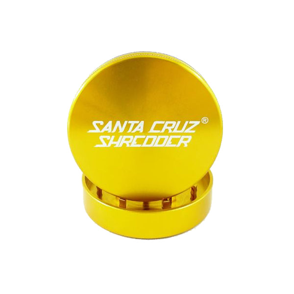 Santa Cruz Shredder - 2 Piece Large Grinder - Gold