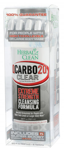 Herbal Clean - Qcarbo20 - Strawberry Mango
