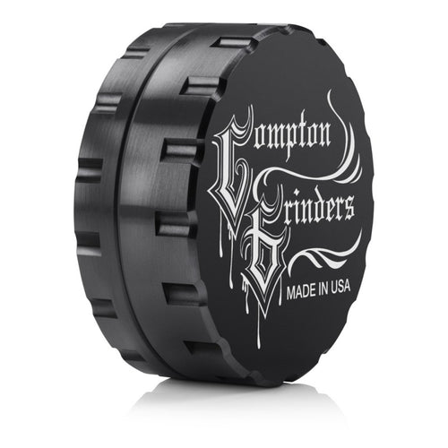Compton Grinders - 2 Piece Medium Grinder - Black