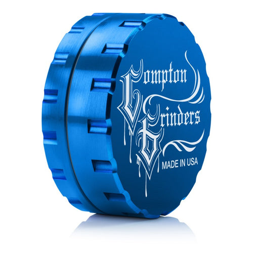 Compton Grinders - 2 Piece Medium Grinder - Blue