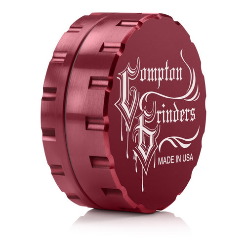 Compton Grinders - 2 Piece Medium Grinder - Red