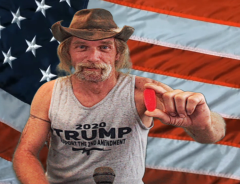 Red Pill Politics - Dave Kopacz - Trump Support the 2nd Amendment MAGA Tank Top (5 Variants) - American Patriots Apparel