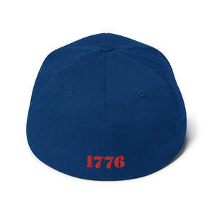 American Patriots Apparel 1776 Thirteen Colonies Besty Ross Flexfit Structured Twill Hat (7 Variants)