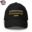 Load image into Gallery viewer, American Patriots Apparel Adjustable Strap Hat Black / OSFA joshbernsteinuncensored.com TRUTH White & Yellow Text Adjustable Strap Hat (7 Variants)