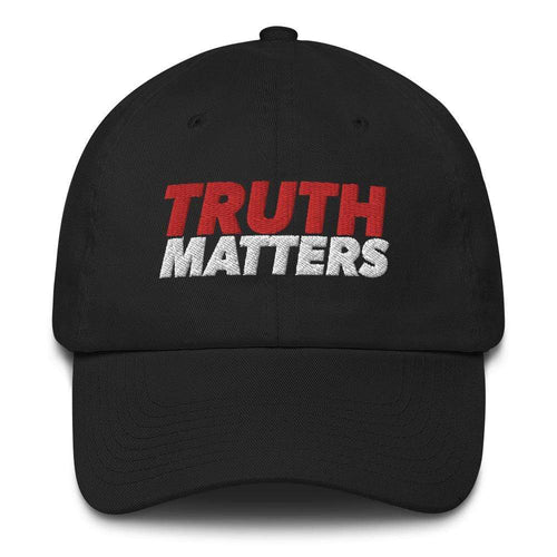 American Patriots Apparel Adjustable Strap Hat Black / OSFA Truth Matters Adjustable Strap Hat (7 Variants)