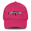 Load image into Gallery viewer, American Patriots Apparel Adjustable Strap Hat Bright Pink / OSFA Molon Labe AR-15 Pew Pew Adjustable Strap Hat (7 Variants)