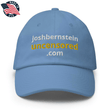 Load image into Gallery viewer, American Patriots Apparel Adjustable Strap Hat Carolina Blue / OSFA joshbernsteinuncensored.com TRUTH White & Yellow Text Adjustable Strap Hat (7 Variants)
