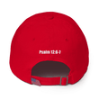 Load image into Gallery viewer, American Patriots Apparel Adjustable Strap Hat KJV Only! (BLACK TEXT) Psalm 12:6-7 (WHITE TEXT) Adjustable Strap Hat (4 Variants)