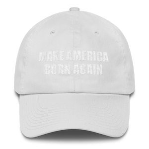 American Patriots Apparel Adjustable Strap Hat MAKE AMERICA BORN AGAIN Acts 20:20 Adjustable Strap Hat (6 Variants)