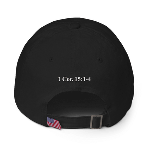 American Patriots Apparel Adjustable Strap Hat MAKE AMERICA SAVED AGAIN 1 Cor. 15:1-4 Adjustable Strap Hat (5 Variants)