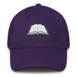 Load image into Gallery viewer, American Patriots Apparel Adjustable Strap Hat Purple KJV Only! (BLACK TEXT) Psalm 12:6-7 (WHITE TEXT) Adjustable Strap Hat (4 Variants)