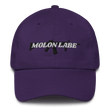 Load image into Gallery viewer, American Patriots Apparel Adjustable Strap Hat Purple / OSFA Molon Labe AR-15 Pew Pew Adjustable Strap Hat (7 Variants)