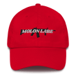 Load image into Gallery viewer, American Patriots Apparel Adjustable Strap Hat Red / OSFA Molon Labe AR-15 Pew Pew Adjustable Strap Hat (7 Variants)