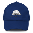 Load image into Gallery viewer, American Patriots Apparel Adjustable Strap Hat Royal Blue KJV Only! (BLACK TEXT) Psalm 12:6-7 (WHITE TEXT) Adjustable Strap Hat (4 Variants)